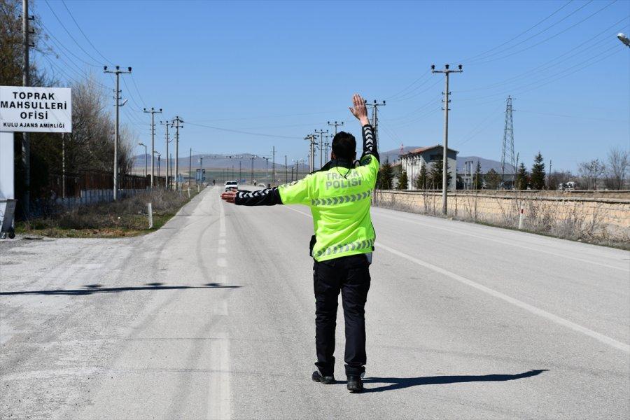 Kulu'da 16 Sürücüye 22 Bin Lira Ceza