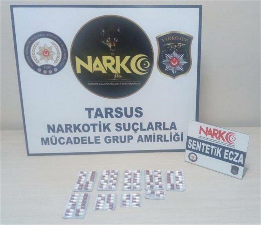 Mersin'de Uyuşturucu Operasyonunda Yakalanan 2 Zanlı Tutuklandı