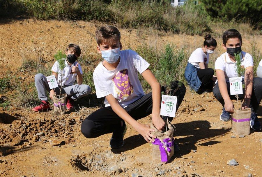 Uğur Okulları Fidan Dikme Projesi Gerçekleştirildi