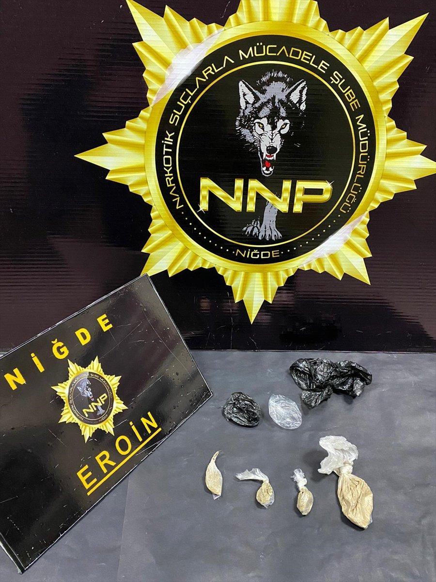 Niğde'de Uyuşturucu Operasyonları: 4 Gözaltı