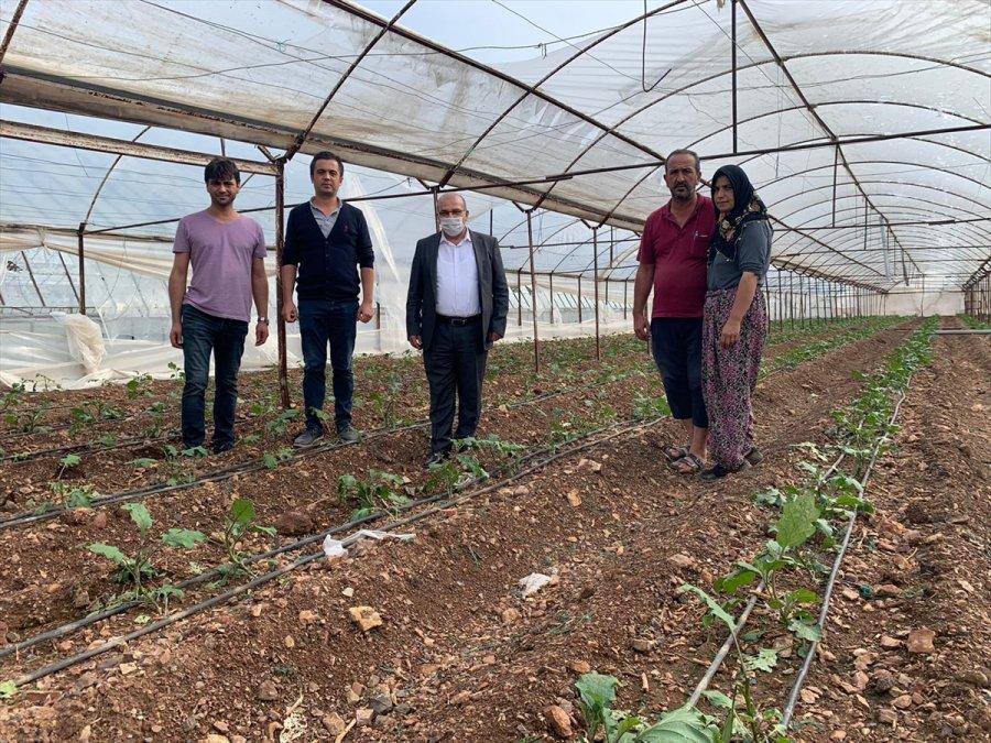 Fırtına Ve Doludan Zarar Gören Çiftçilere Tarım Kredi Kooperatiflerinden Destek