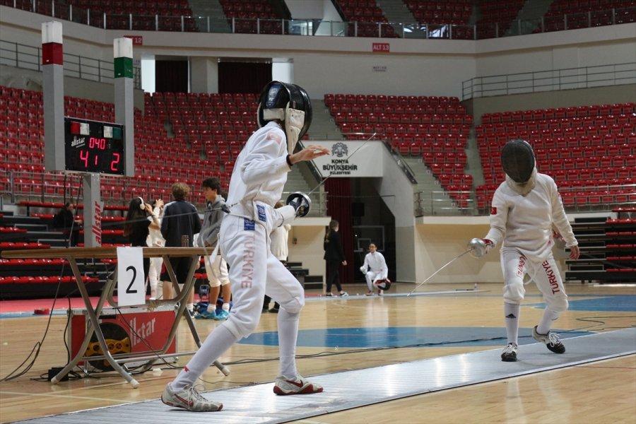 Eskrim Epe Açık Turnuvası, Konya'da Devam Ediyor