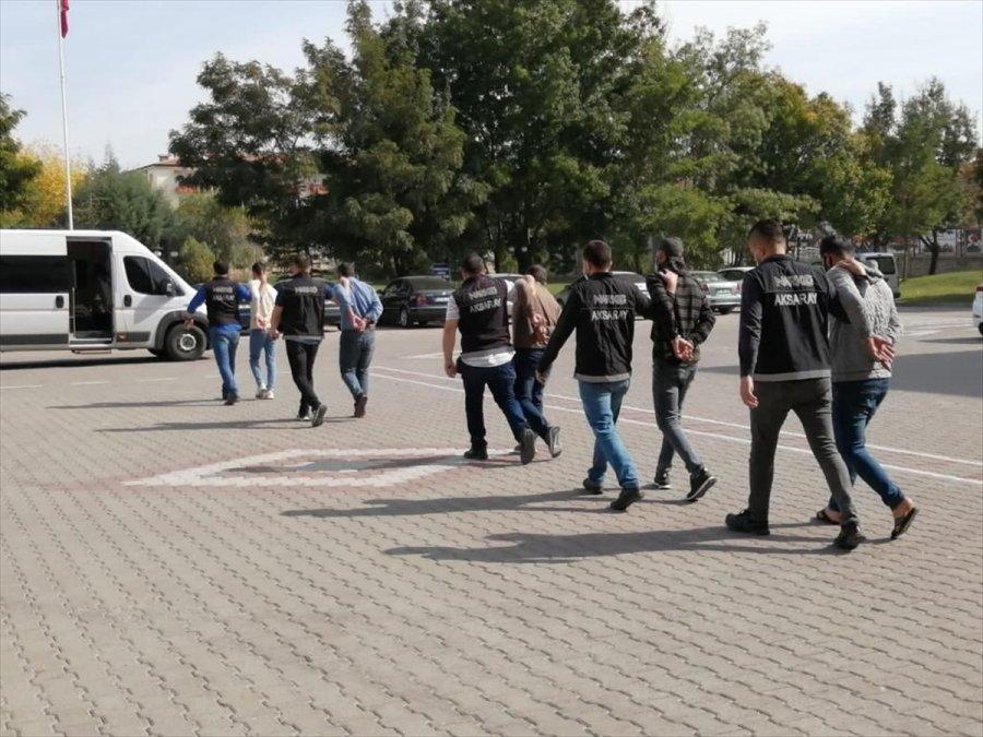 Aksaray'da 106 Kilo Eroinin Ele Geçirildiği Operasyona 5 Tutuklama