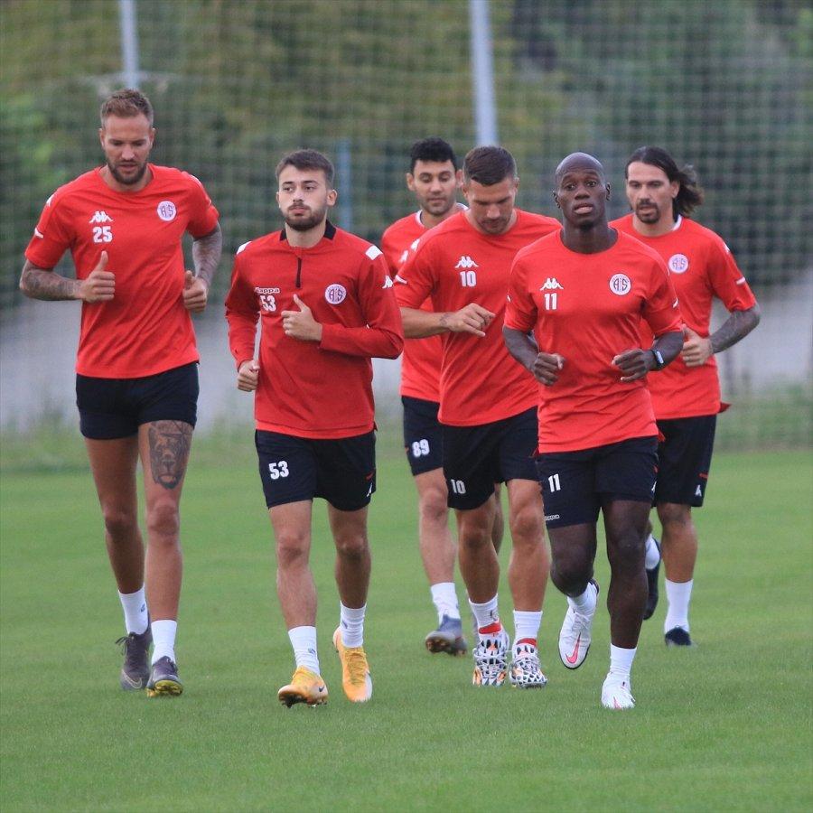 Antalyaspor, Fenerbahçe Maçı Hazırlıklarına Başladı