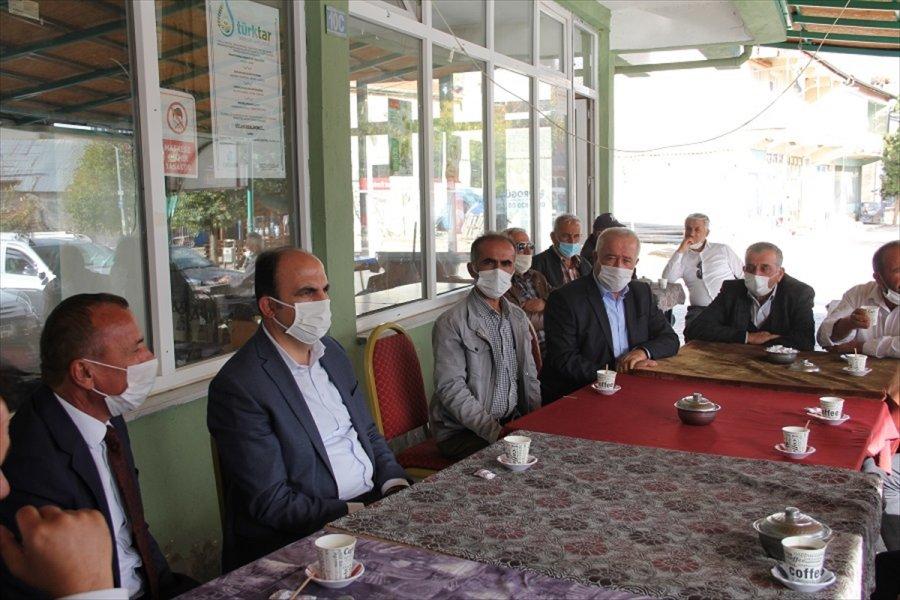 Konya Büyükşehir Belediye Başkanı Altay'ın Yalıhüyük Ziyareti