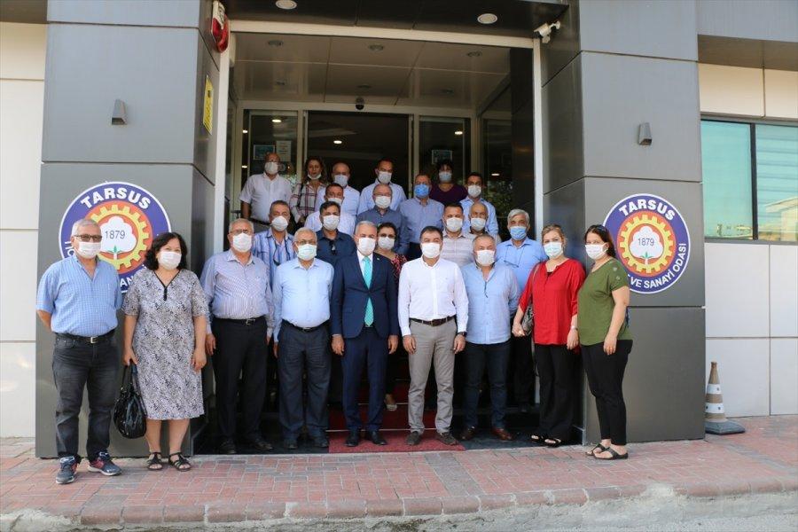Mhp Mersin Milletvekili Şimşek'in Tarsus'daki İncelemeleri