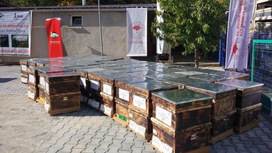 Bozkır'da 133 Üretici Ve Bir Kooperatif Desteklemelerini Aldı