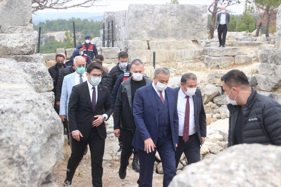 Mersin Valisi Ali İhsan Su'dan Gülnar'a Ziyaret