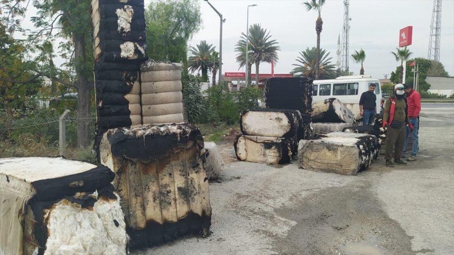 Mersin'de Çırçır Fabrikasında Çıkan Yangın Söndürüldü