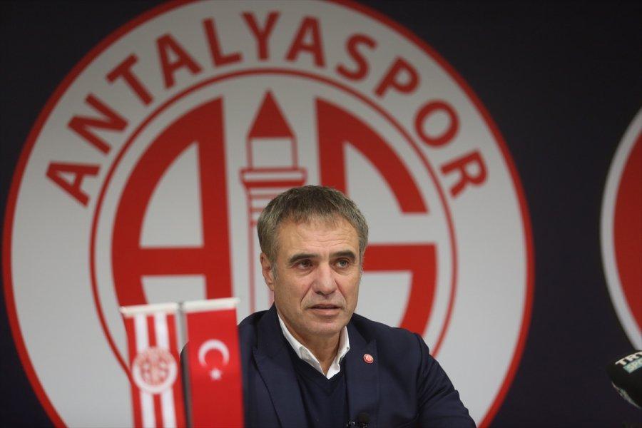 Antalyaspor'da Hedef Zirveyi Zorlayan Bir Takım Oluşturmak