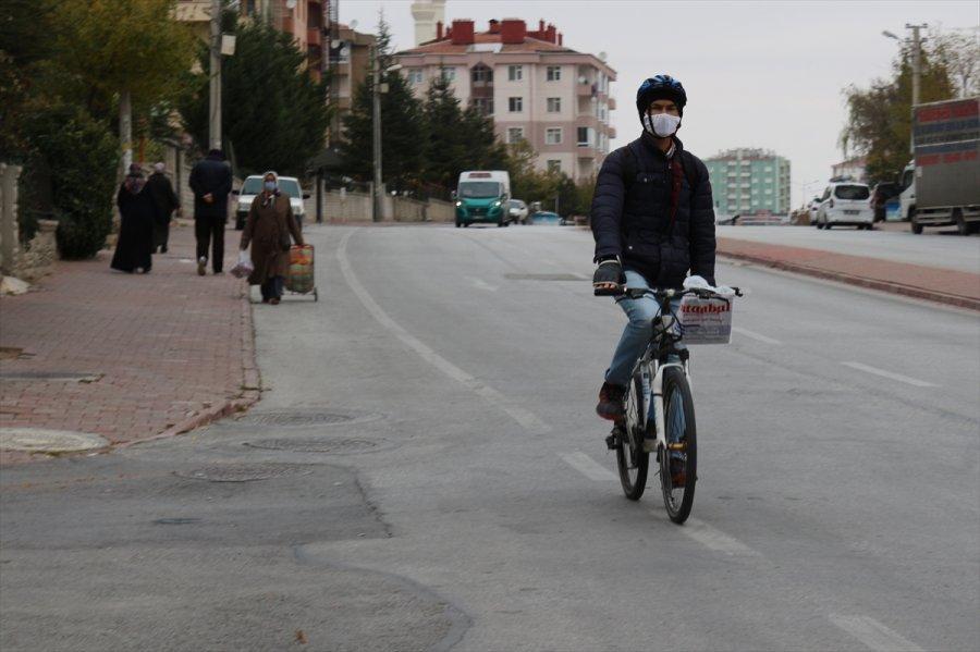 Konya, Afyonkarahisar, Karaman Ve Aksaray'da Yeni Kovid-19 Tedbirleri Hayata Geçirildi