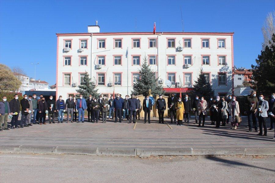 Tomarza'da Öğretmenler Günü Kutlandı