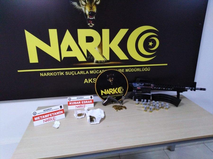 Aksaray'da Uyuşturucu Sattıkları İddiasıyla Yakalanan 3 Zanlı Tutuklandı