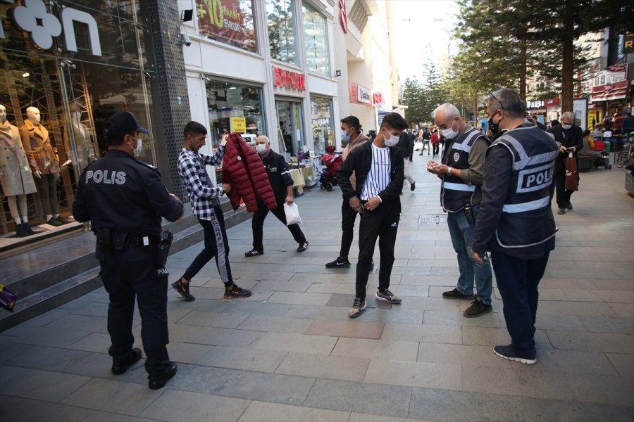 Antalya'da Kovid-19 Denetimleri Yapıldı