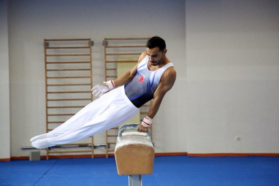 Artistik Cimnastik Milli Takımı Mersin'de Kampa Girdi