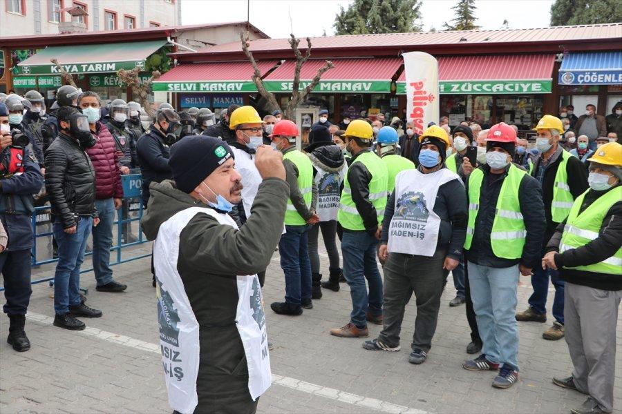 Ermenek Kaymakamlığından Özel Maden Ocağında Çalışan İşçilerin Eylemine İlişkin Açıklama: