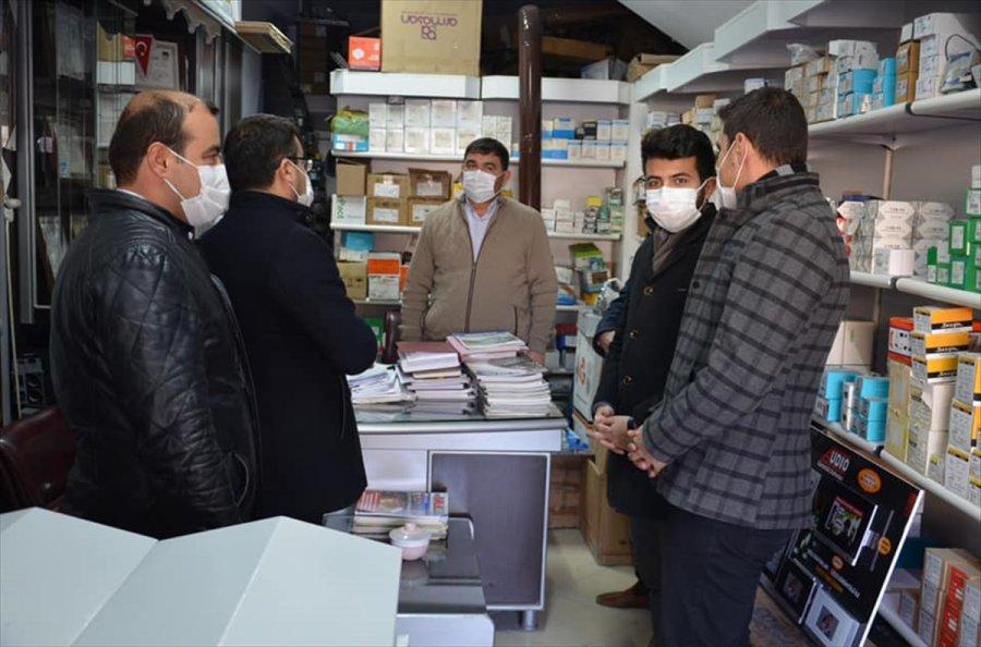 Ak Parti Karapınar İlçe Başkanı Zengin'den Esnaf Ziyareti
