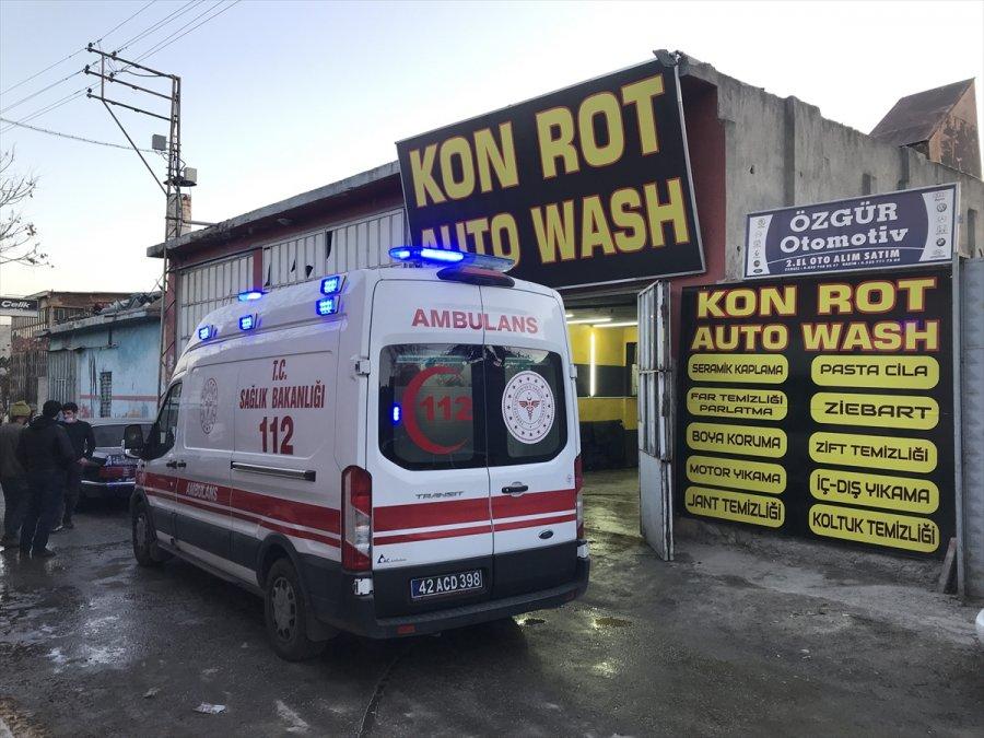 Konya'da Silahlı Saldırı: 1 Ölü, 2 Yaralı