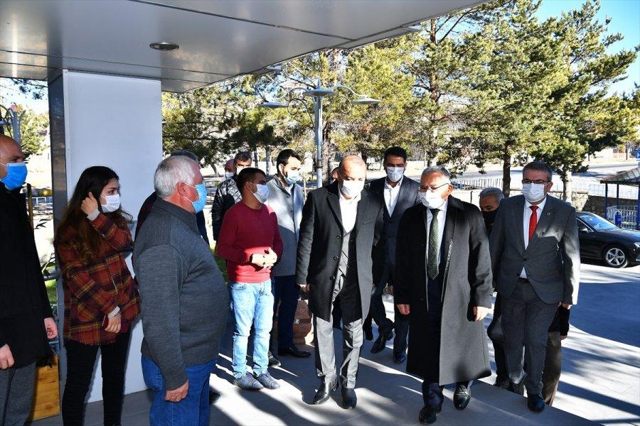 Büyükkılıç, Pınarbaşı Ve Sarız'ı Ziyaret Etti