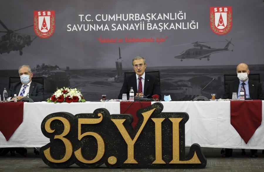 Savunma Sanayii Başkanı Demir, 2020 Değerlendirme Ve 2021 Hedefler Toplantısı'nda Konuştu: (2)