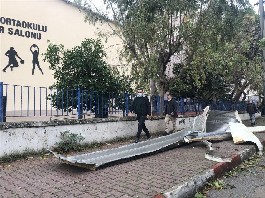 Güncelleme - Antalya'da Kuvvetli Rüzgar Ve Gök Gürültülü Sağanak