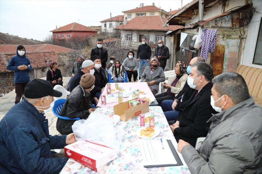 Çubuk Kaymakamı Keleş Ve Belediye Başkanı Demirbaş'tan Mahalle Ziyaretleri