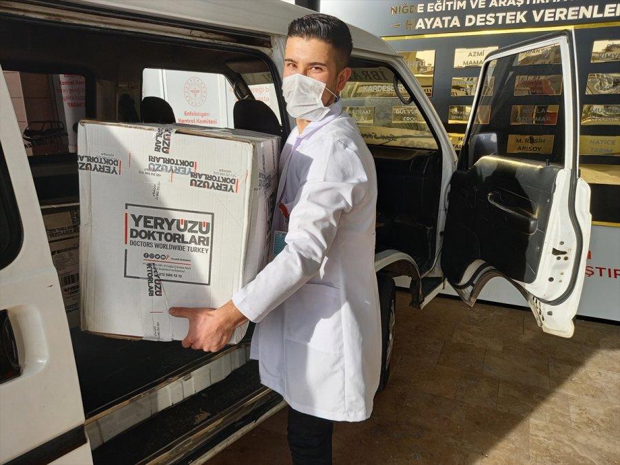 Genç Yeryüzü Doktorları Topluluğu'ndan Kovid-19 Servisi Çalışanlarına