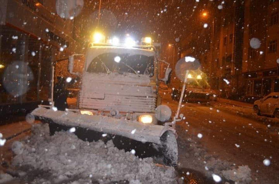 Kayseri Ve Yozgat'ta Kar Yağışı Etkili Oldu