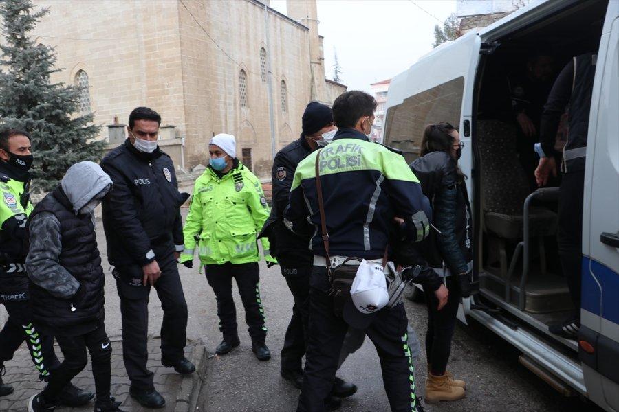 Karaman'da 550 Polisle Organize Suç Örgütü Operasyonu