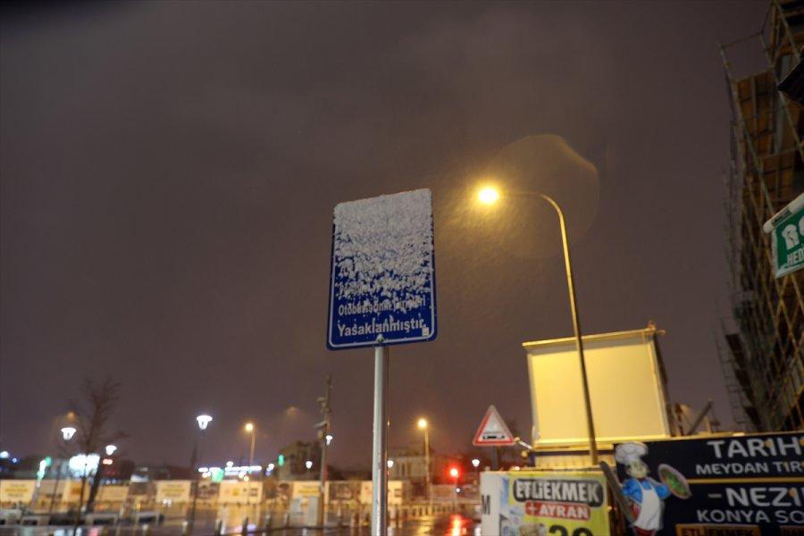 Konya'da Kar Ve Tipi Etkili Oluyor