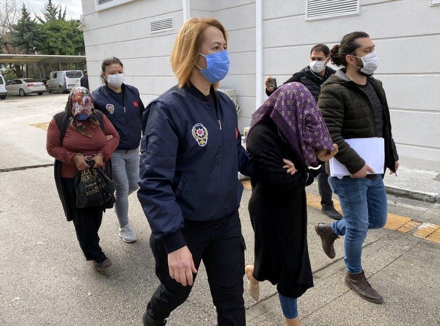 Mersin'deki Dolandırıcılık Soruşturmasında Yakalanan Anne İle Kızı Ev Hapsi Tedbiriyle Salıverildi