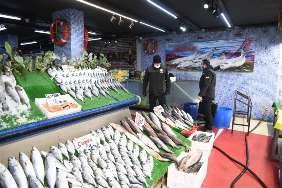 Kayseri'de Turna Balığı Satan İşletmeye 5 Bin 455 Lira Ceza