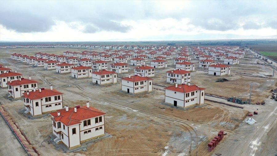 Toki Tarafından Meram'a İnşa Edilen Dedemli Mahallesi'nin Yeni Yerleşkesinde Sona Gelindi