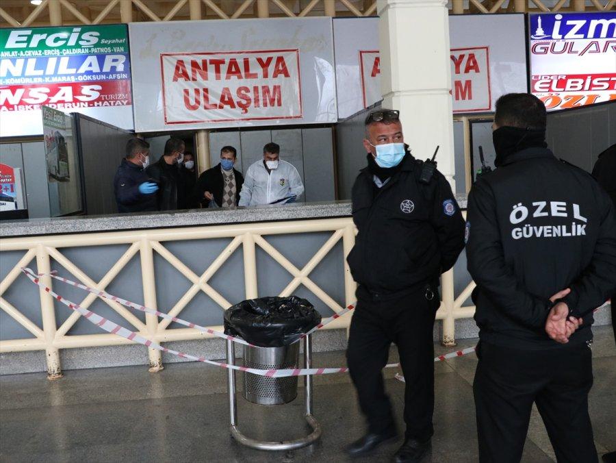 Antalya'da Yük Taşımacılığı Yapan Kişi Otogarda Ölü Bulundu