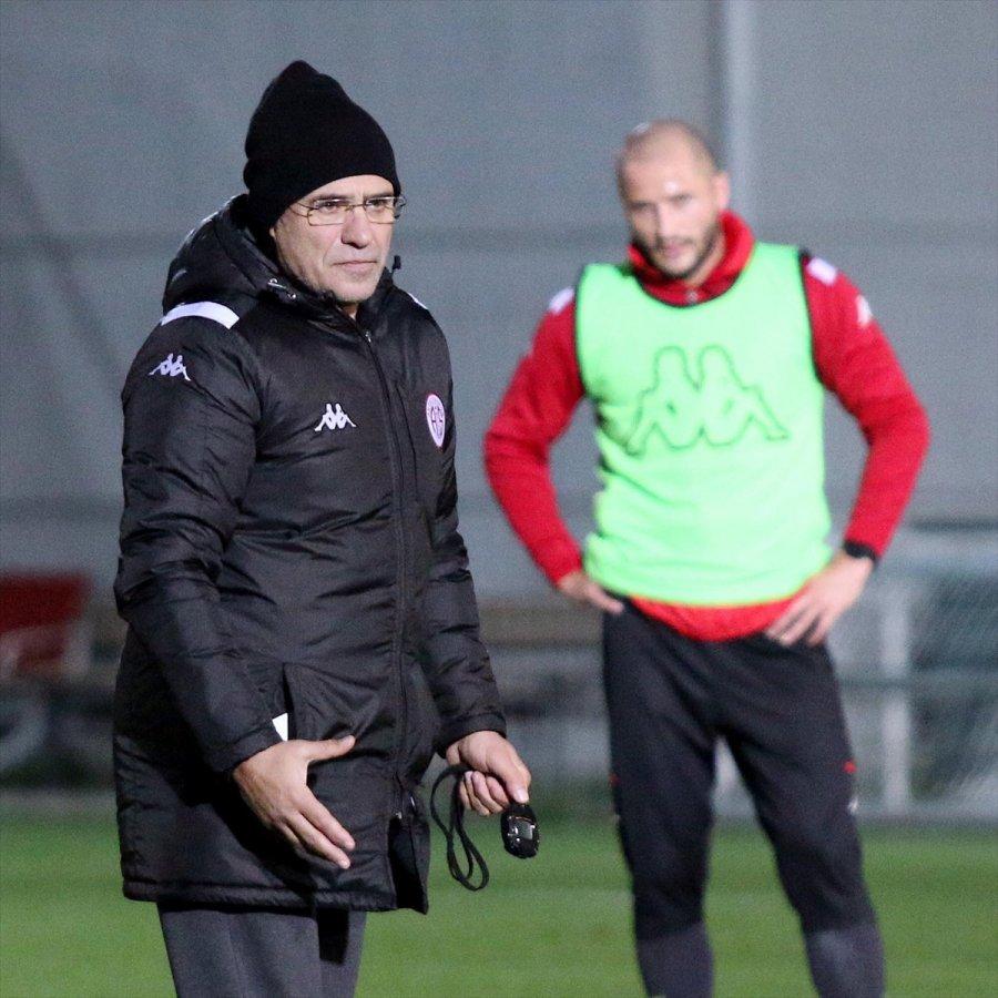 Antalyaspor, Gençlerbirliği Maçının Hazırlıklarına Başladı