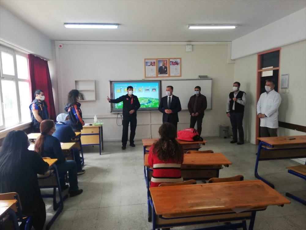 Çubuk'ta Öğretmenlere Afet Eğitimi
