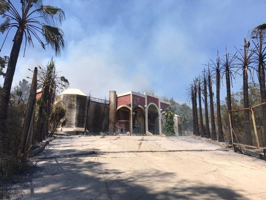 Antalya'da Yakın İki Noktada Çıkan Orman Yangınlarına Müdahale Ediliyor