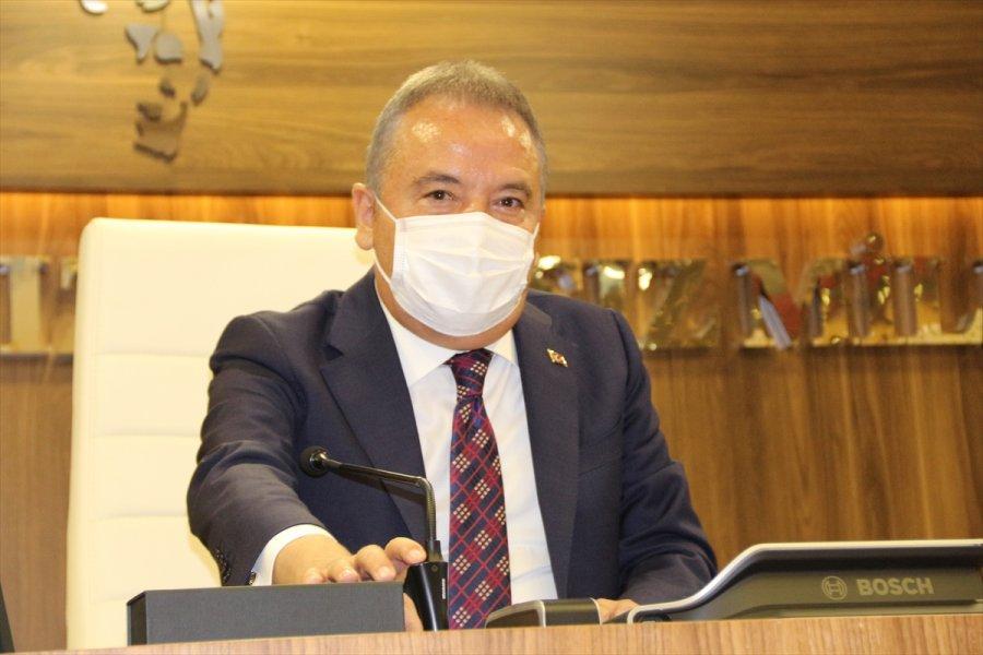 Antalya Büyükşehir Belediyesi Haziran Ayı Meclis Toplantısı Yapıldı