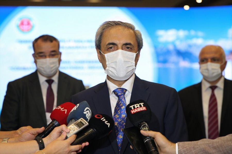 Yargıtay Cumhuriyet Başsavcısı Bekir Şahin, Hdp'nin Kapatılmasına İlişkin Hazırlanan İddianame Hakkında Konuştu: