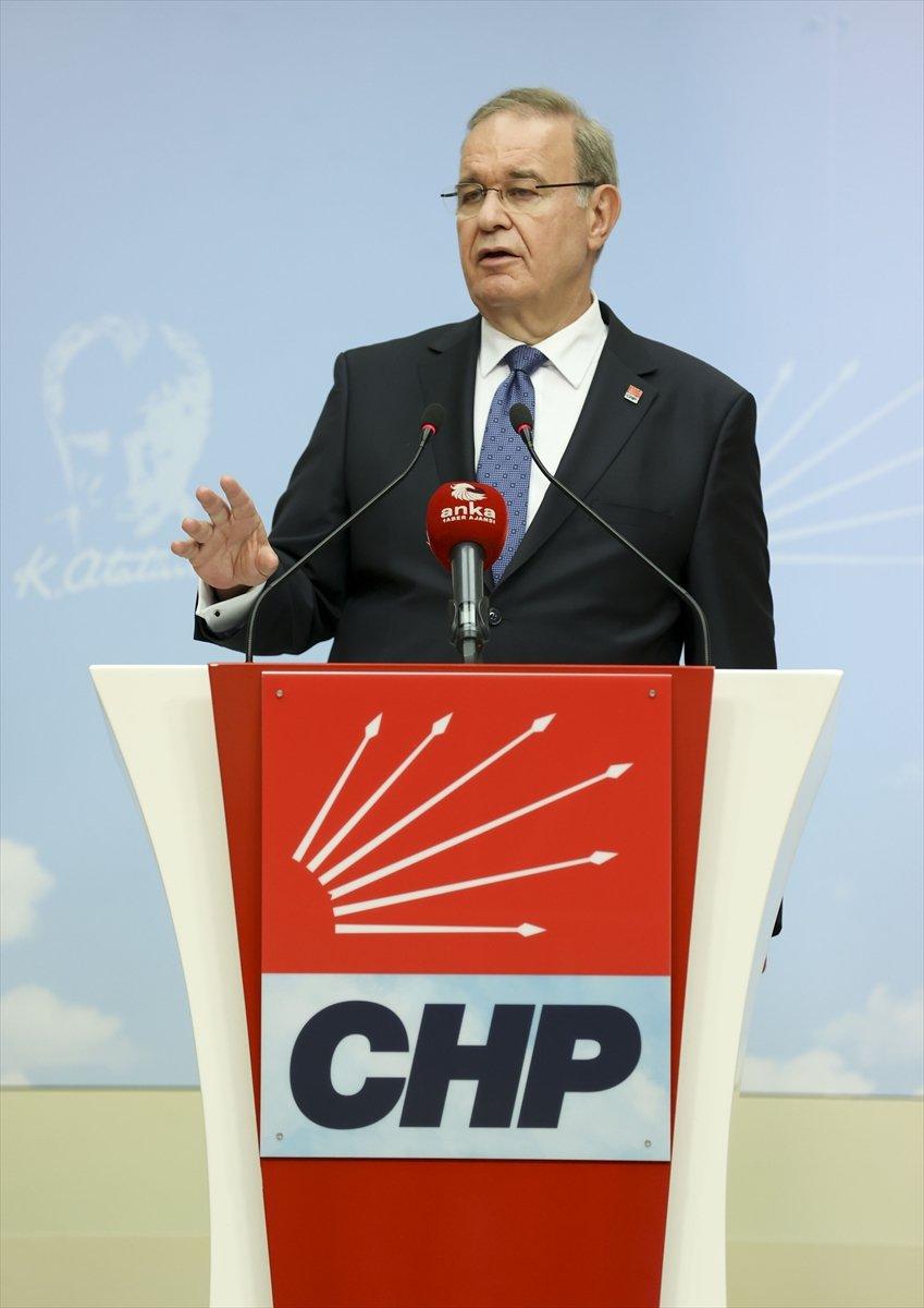 Chp Sözcüsü Öztrak, Myk Toplantısına İlişkin Açıklama Yaptı: