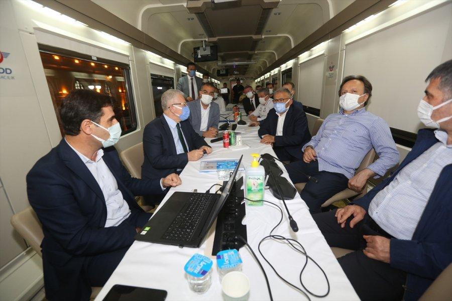 Kayseri'nin Ulaşım Projeleri Ele Alındı