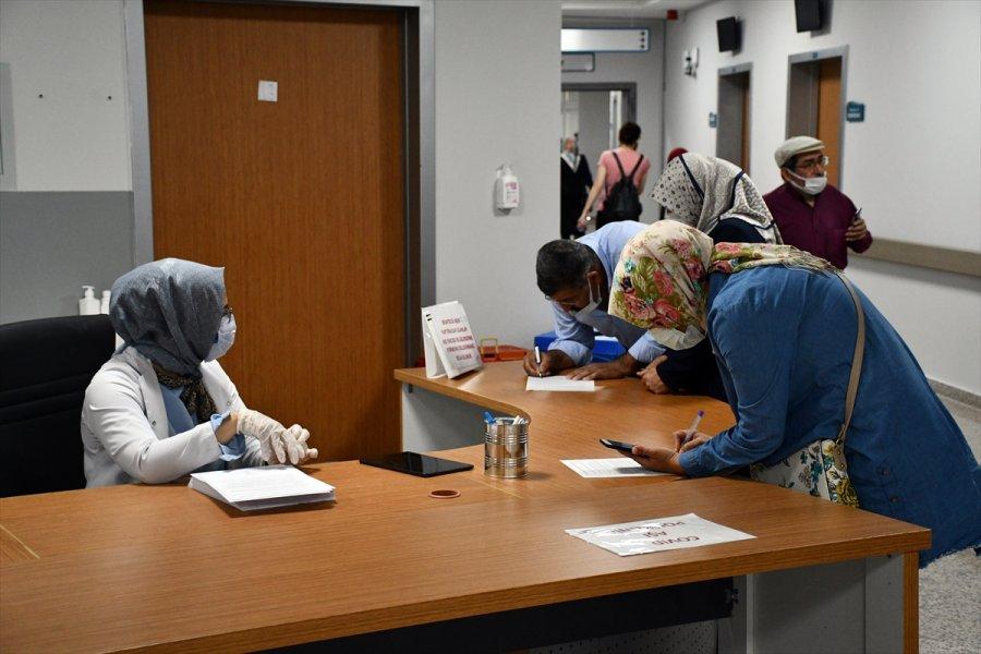 İç Anadolu'da Sgk'ye Kayıtlı Çalışanların Aşılanmasına Başlandı