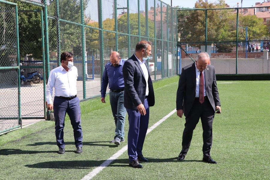 Ak Parti Karaman Milletvekili Şeker, Spor Yatırımlarını İnceledi