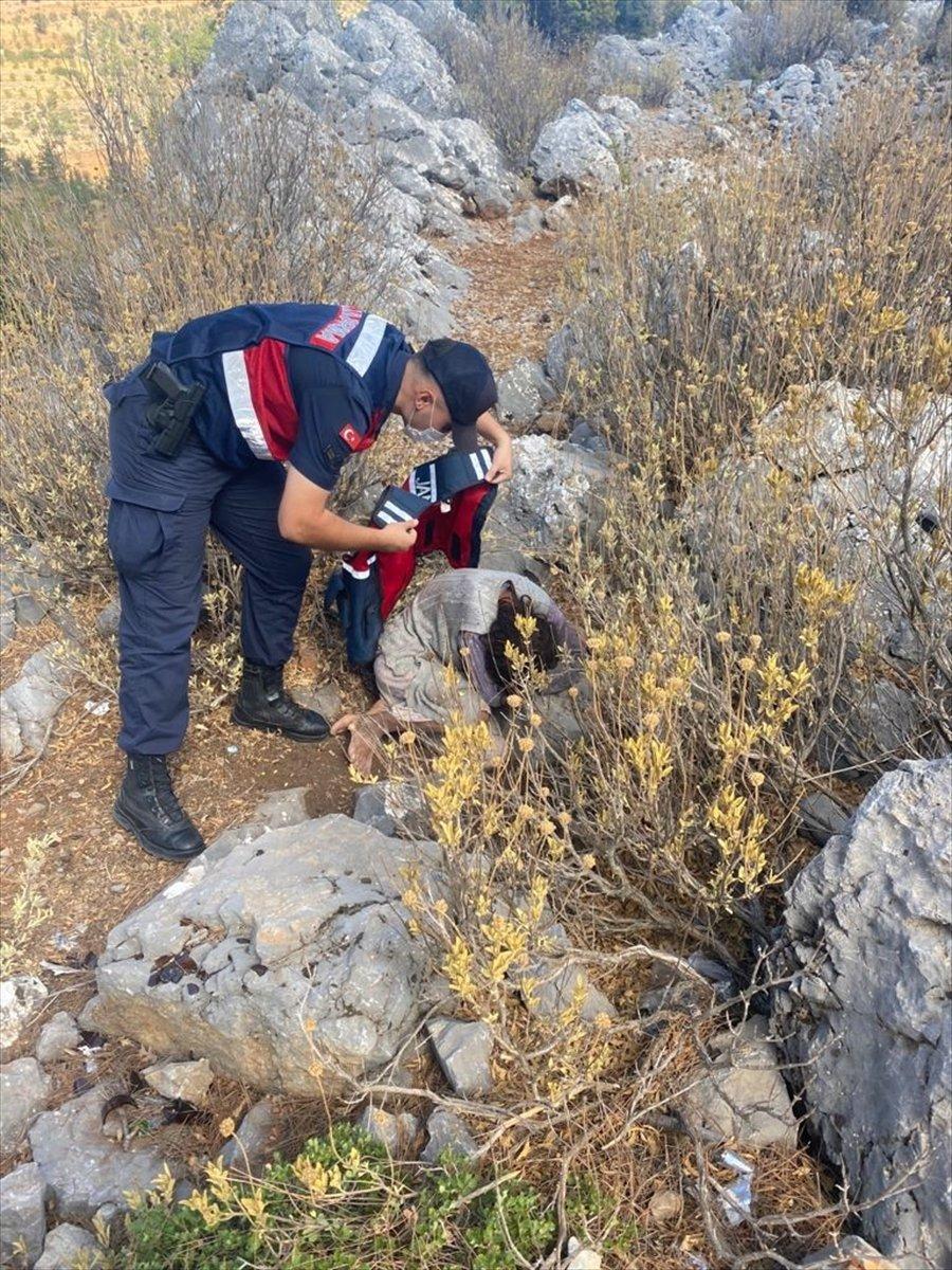 Mersin'de 2 Gündür Aranan Kadın Kırsalda Bitkin Halde Bulundu