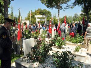 Karaman'da Şehitlikler Ziyaret Edildi
