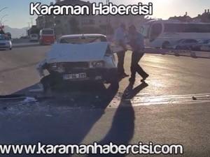 Alparslan Türkeş Bulvarı Üzeri Kaza