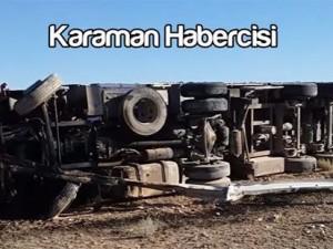 Karaman Ereğli Yolu Trafik Kazası