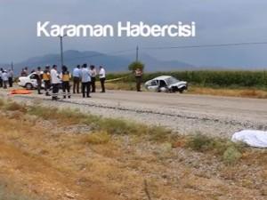 Mesudiye Yolunda Trafik kazası
