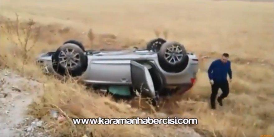 Karaman Konya Yolu Trafik Kazası