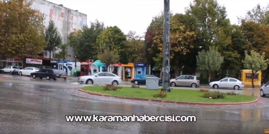 Karaman'da Yağmurlu Hafta Sonu